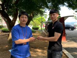 AUG. Ceremony with Dae keun Choi