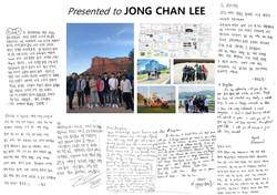 FEB. Rolling Paper for Jongchan Lee