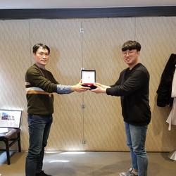 FEB. Ceremony with Jongchan Lee
