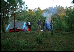Camping in jim corbett