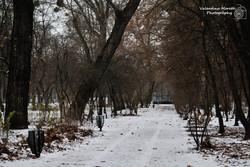 Il Parco Városliget innevato