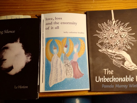 Every Year's a Good Year for Poetry: Three Short Poetry Book Reviews