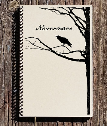 The Raven Nevermore Notebook