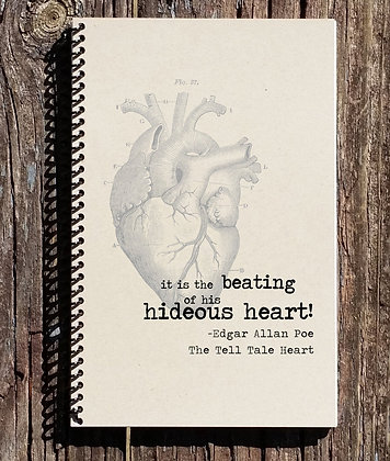 The Tell Tale Heart  Notebook