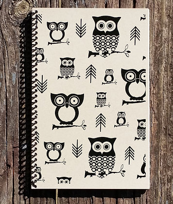 Owls and Arrows Journal Notebook