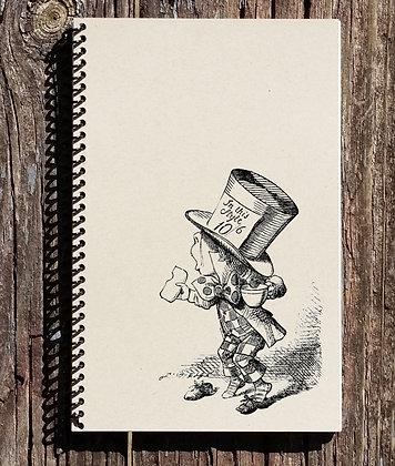 Alice in Wonderland Journal - Alice in Wonderland Notebooks - Mad Hatter