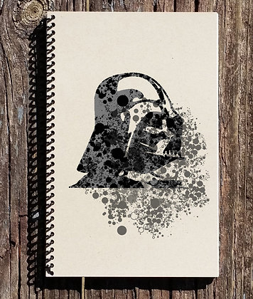 Star Wars Inspired Notebook - Darth Vader Notebook - Star Wars Inspired Journal