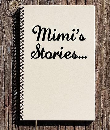 Mimis Stories Notebook