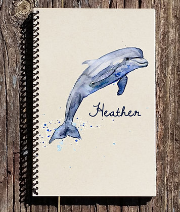 Dolphin Personalized Notebook