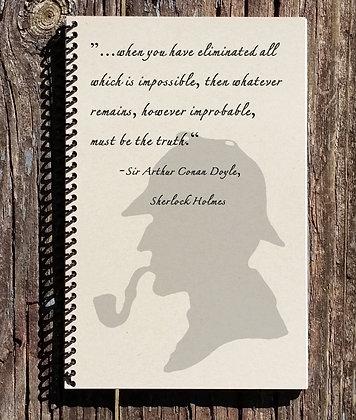 Sherlock Holmes Notebook The Truth