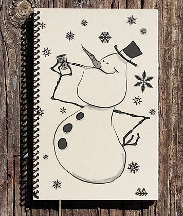 Winter Holiday Notebook