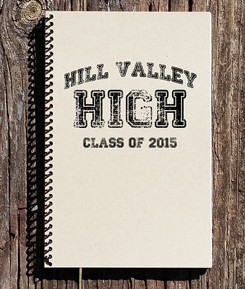 Back to the Future Hill Valley High Notebook