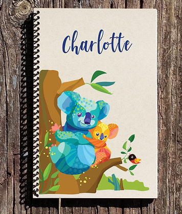 Koala Personalized Notebook