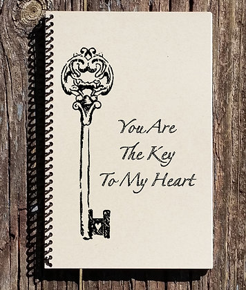 You Are The Key To My Heart Notebook