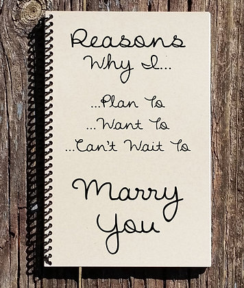 I Can't Wait To Marry You Notebook