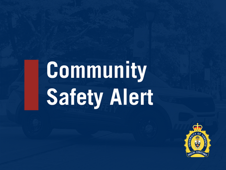 CSA 21-002: Off Campus Sexual Assault (Bloor Street West and St. George Street)