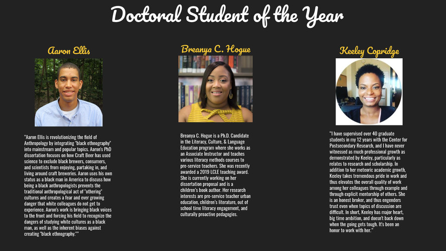 Doctoral Student of the Year (2)