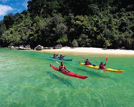 Kayaking at Abel Tasman
