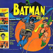 Batman and Robin album cover Sun Ra Arkestra
