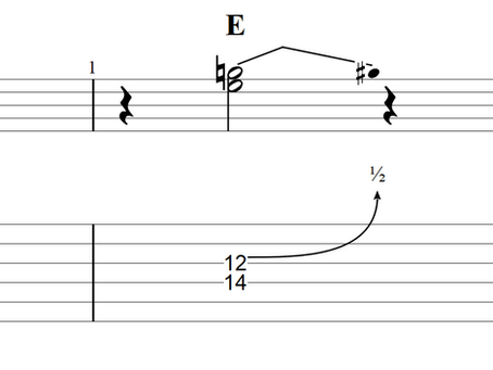 Country Guitar Lessons - Lick 02 - Bending Minor 3rd to Major 3rd