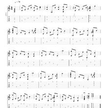 Auld Lang Syne Fingerstyle