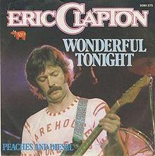 Eric Clapton Wonderful Tonight album cover