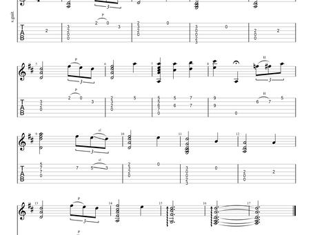 Amazing Grace Guitar Arrangement