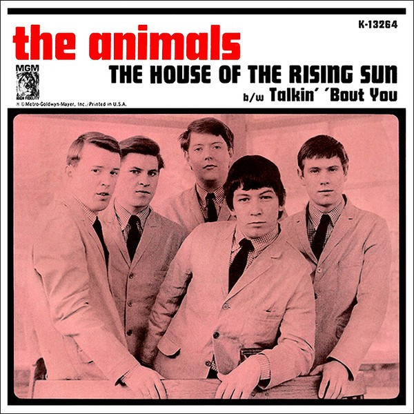 Cover art for The Animals House of the Rising Sun