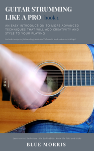 Book cover of Guitar Strumming Like a Pro