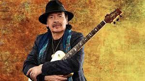 Carlos Santana publicity shot