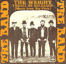 Album art for The Band song The Weight