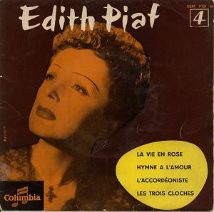 Album cover for Edit Piaf La Vie En Rose