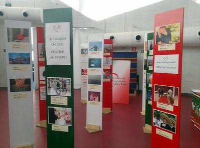 Exposición en la Cúpula del Milenio