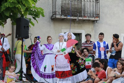 Kermese Mexicana en Cogeces del Monte
