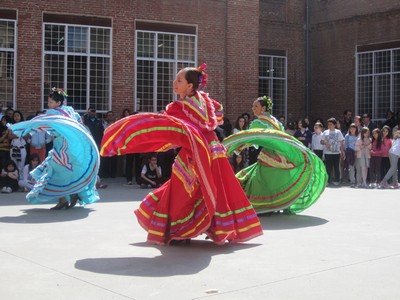 Actuación en el Colegio García Quintana