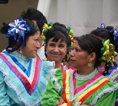 Bailes Mexicanos en la Plaza de Portugal