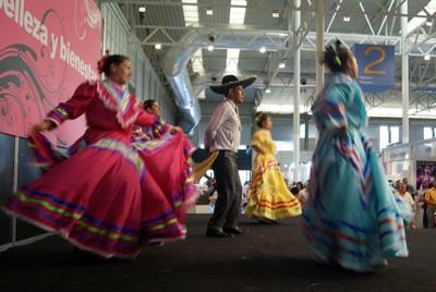 Actuación en la Feria de Muestras