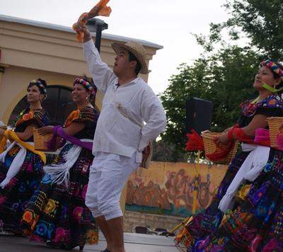 Actuación en la Plaza de España