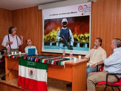 Coloquio sobre violencia en México