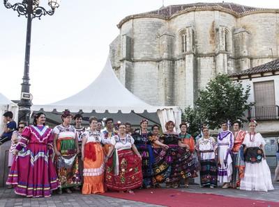Celebración mexicana en Cigales
