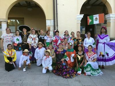Fiesta mexicana en Simancas