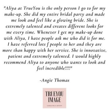Testimonial- Angie Thomas