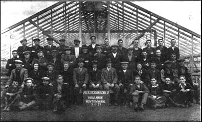 Staff photo from 1931