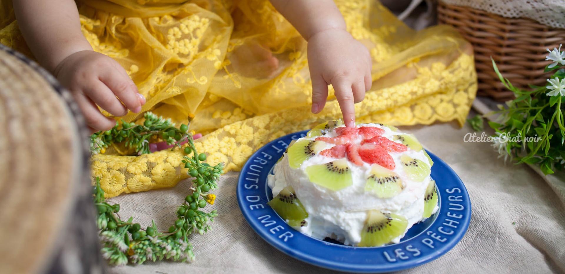 スマッシュケーキ ママの手作り♡