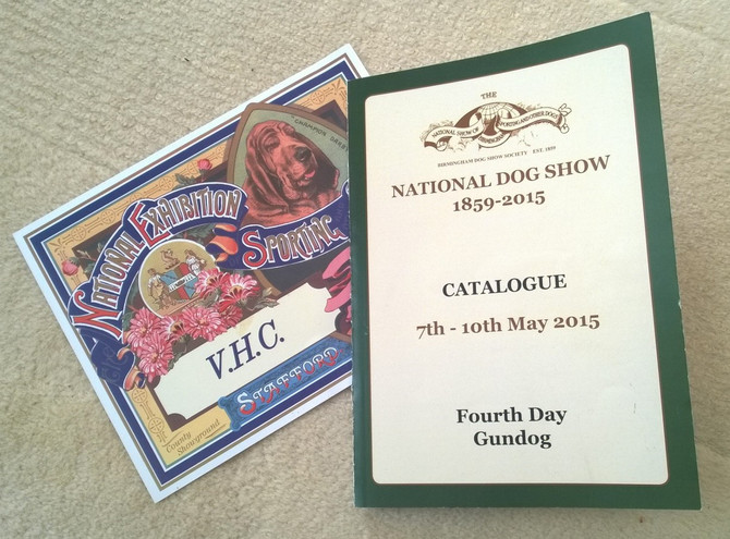 NATIONAL DOG SHOW 2015