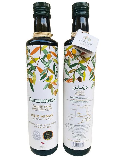 Darmmess Premium Extra Virgin Olive Oil (2 X500ML)