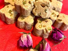 Nowrooz : Les petits gâteaux  faits avec Darmmess ! Délicieusement addictifs ..