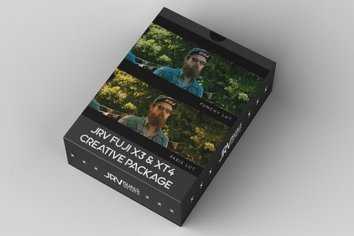 FUJI X-T3 & X-T4 Creative Lut Pack