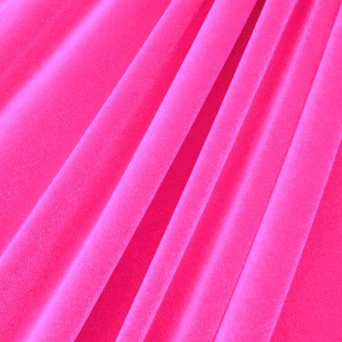 Neon Pink Velvet
