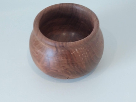 French walnut bowl from old newel